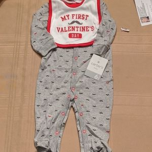 Carter's One piece with Feet, 6 months